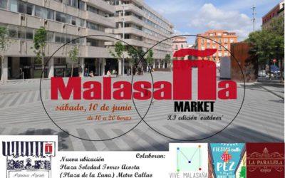 Participamos en la XI Edición de Malasaña Market del 10 de junio