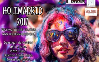 HOLIMADRID 2017 – Festival de los colores en Madrid