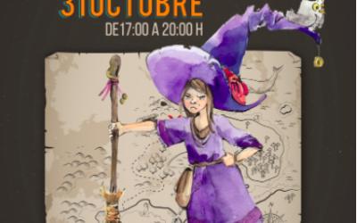 Truco o trato: ruta de halloween el 31 de octubre
