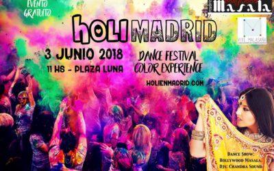 HOLIMADRID 2018 – Festival de los colores en Madrid